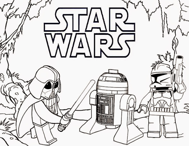 Star Wars Coloring Pages Coloring Pages For Kids