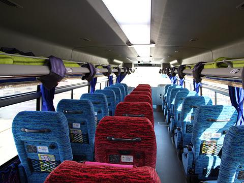 北海道バス「釧路特急ニュースター号」・993 車内 その2