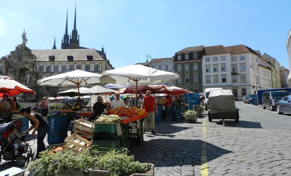 walking through the lovely market