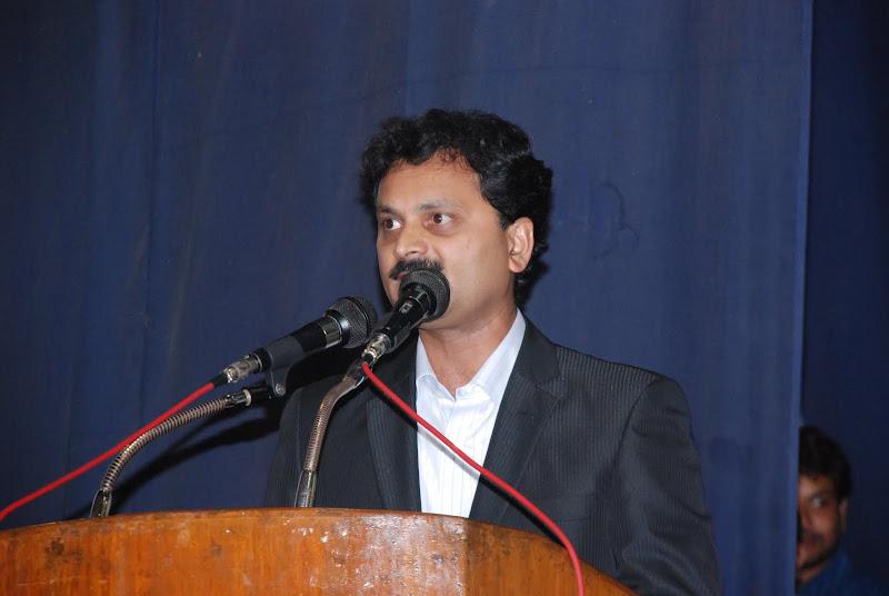 Vote of thanks by Sunil Peechara