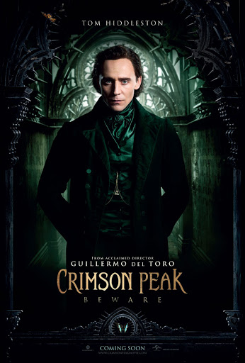 Πορφυρός Λόφος (Crimson Peak) Tom Hiddleston Poster