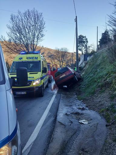 Acidente na estrada nacional nº 2 faz dois feridos ligeiros