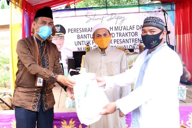 Peresmian Rumah Mu'alaf dan Bantuan Hand Tractor untuk Ponpes Muhibbin