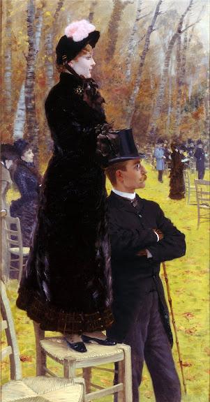Giuseppe de Nittis - Alle corse di Auteuil- sulla seggiola, 1883
