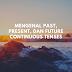 Mengenal Present, Past, dan Future Continuous Tense
