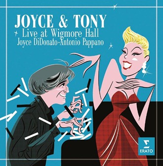 CD REVIEW: JOYCE & TONY - Live at Wigmore Hall (ERATO 0825646107896)