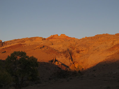 The San Rafael Reef at sunrise