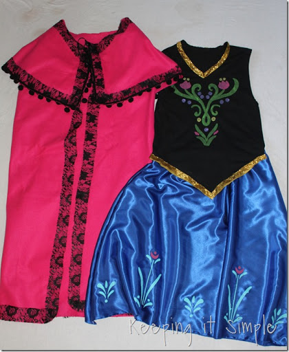 DIY-Anna-Frozen-Adult-Costume-For-Under-$20 ( & Disney Frozen Halloween Costume: DIY Anna Frozen Adult Costume for ...
