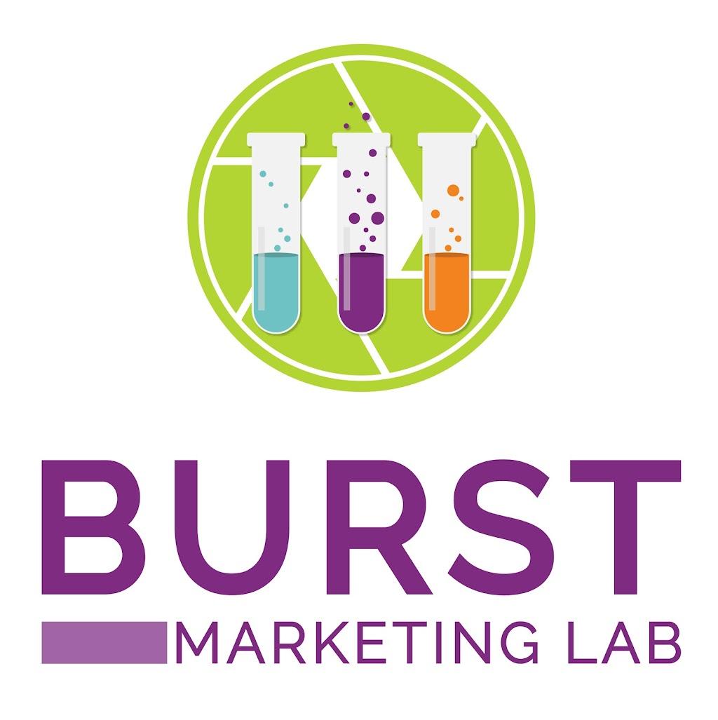 Burst Marketing Lab Vertical Logo