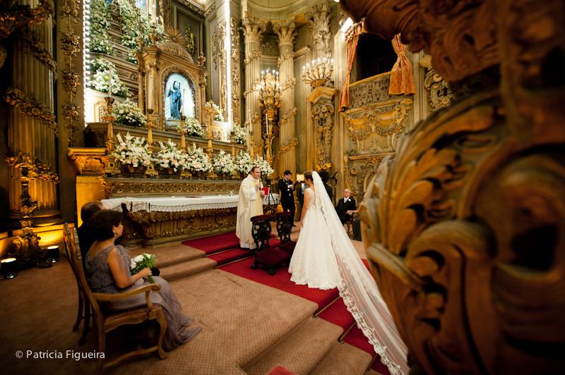 Foto de casamento 0917 de Ana e Joao. Marcações: 29/10/2011, Casamento Ana e Joao, Igreja, Igreja Sao Francisco de Paula, Rio de Janeiro.
