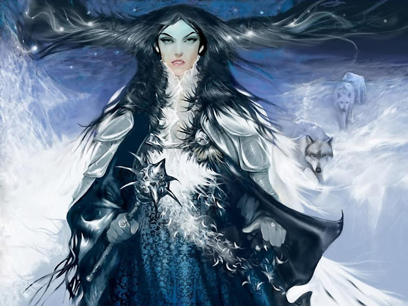 Mystical Sorceress Of Nature, Fantasy Girls 1