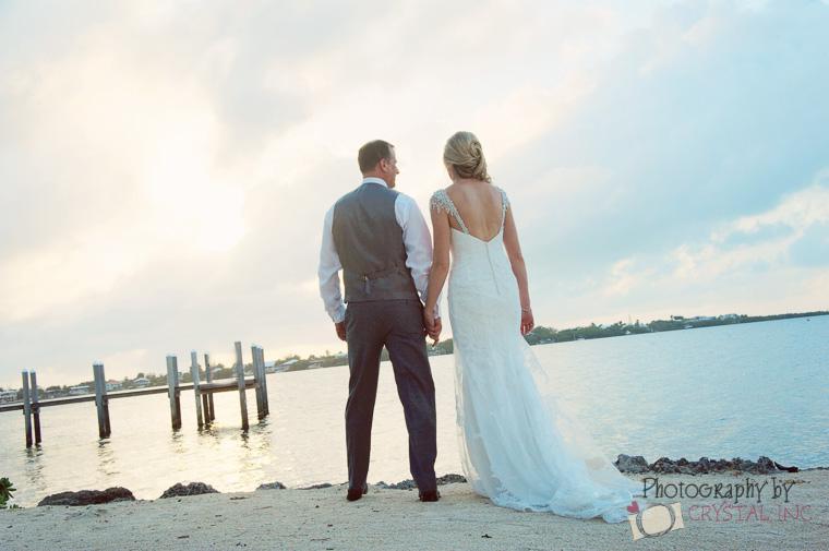moon beach wedding in the florida keys fl keys wedding ideas key