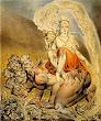 William Blake The Whore Of Babylon 1809
