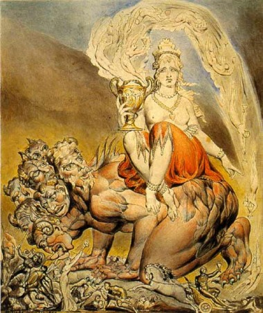 William Blake The Whore Of Babylon 1809, William Blake