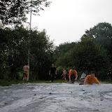 Woensdag 4 juni   Buikschuiven en trefbal