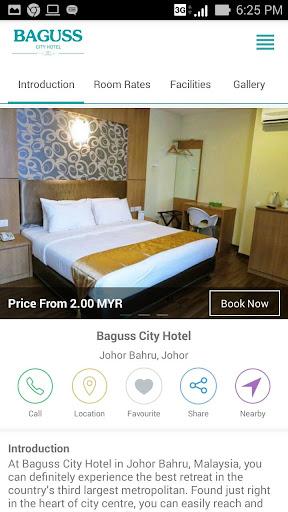Baguss City Hotel screenshot 2