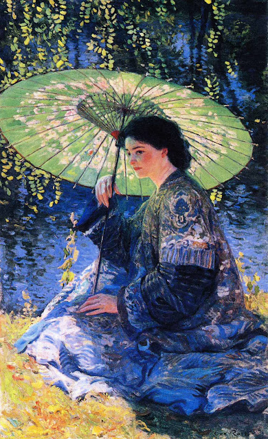 Guy Orlando Rose - The Green Parasol