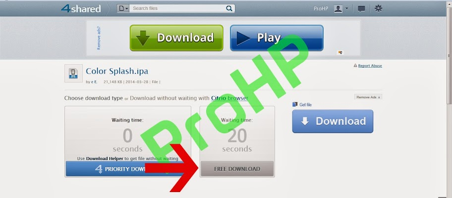 How to Download from 4Shared