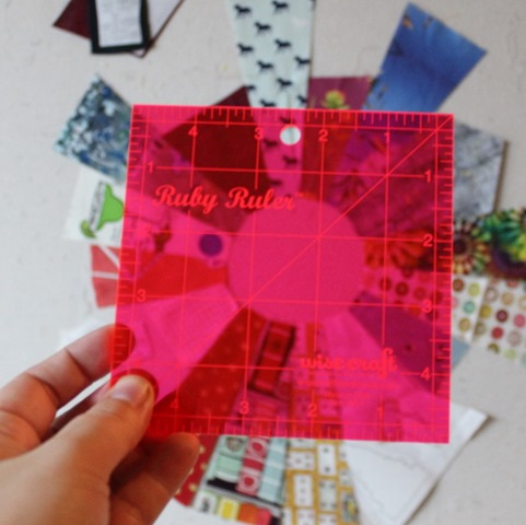 Ruby Ruler by Wise Craft