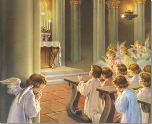 Angeli e Santa Messa