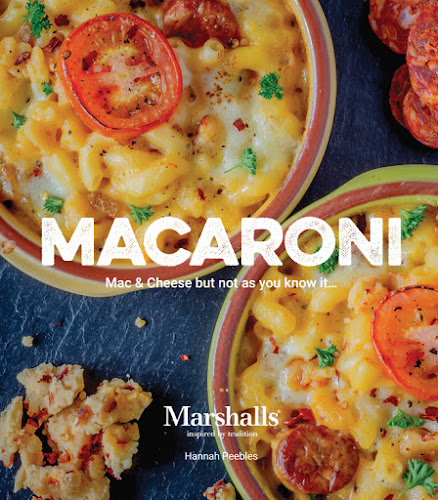 Marshalls Macaroni Cookbook, Marshalls, mac'n'cheese