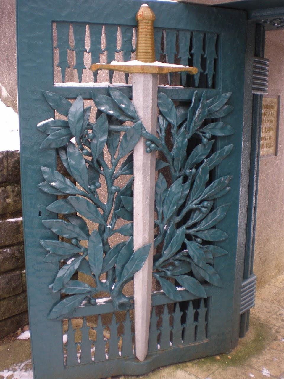 Eingangstor zum amerikanischen Denkmal