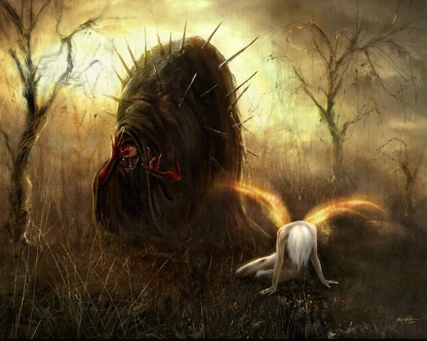 Darkness Of Cannibalish Spirit, Evil Creatures