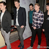 WWW.ENTSIMAGES.COM -    Collabro arriving   at      Amy Childs Clothing anniversary party at Dirty Martini, London October 27th 2014The Only Way is Essex star hosts party to celebrate the third anniversary of her eponymous fashion line and launch her new autumn/winter 2015 collection.                                                  Photo Mobis Photos/OIC 0203 174 1069