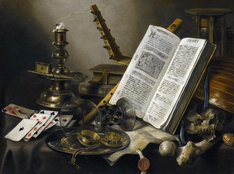 Pieter Claesz - Vanitas still life