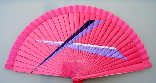 Waaier, fan, abanico modern