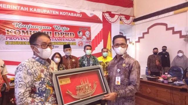 Belajar ke Kalsel, Legislator Kalteng Kunjungi Kotabaru