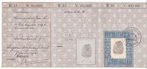 Persoonsbewijs uitgegeven in Enschede