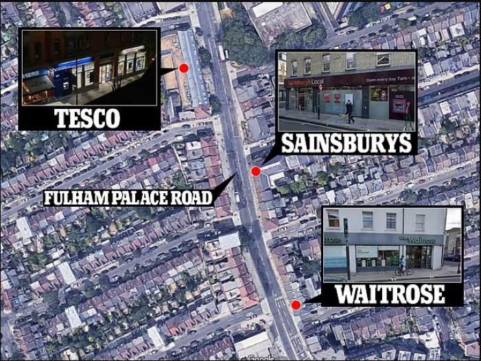 Man arrested after unknown substance was injected into food at several London supermarkets