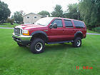 "2000 Ford Excursion XLT 4x4 V-10 6.8 liter 1 owner garaged 77k miles 9"" lift"