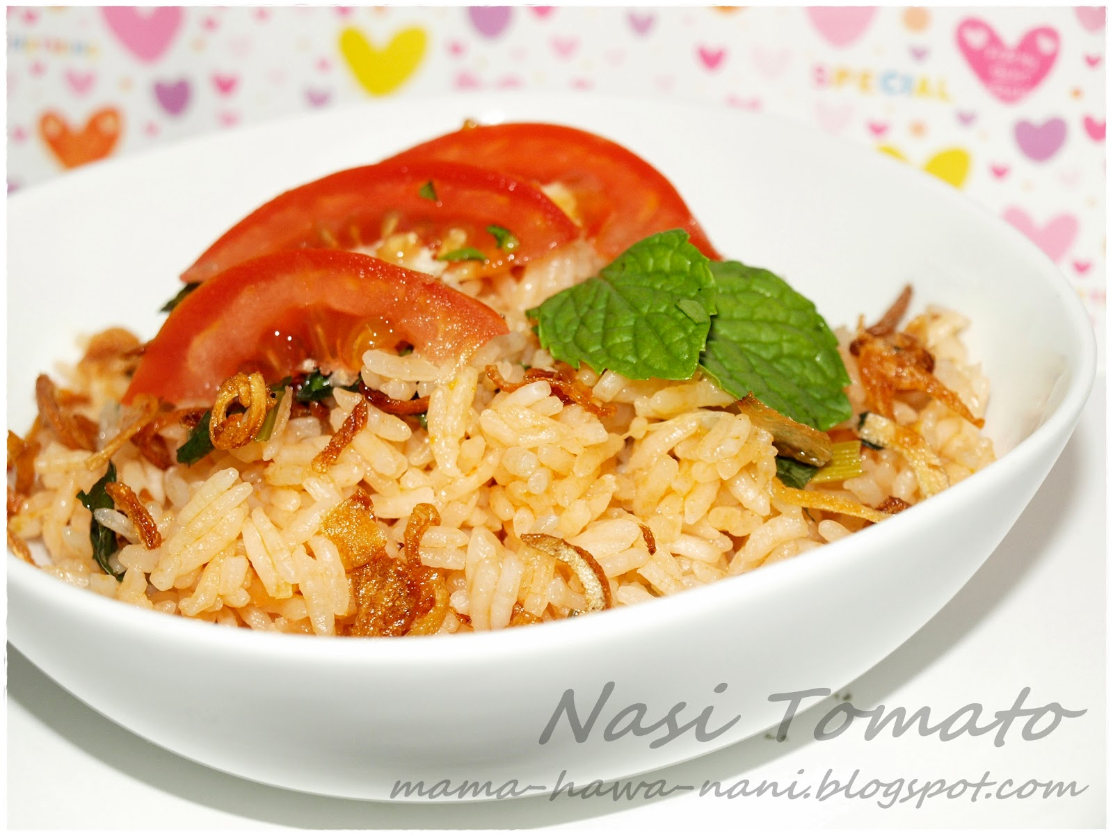 Sometimes things doesnt happen the way we want: Nasi tomato