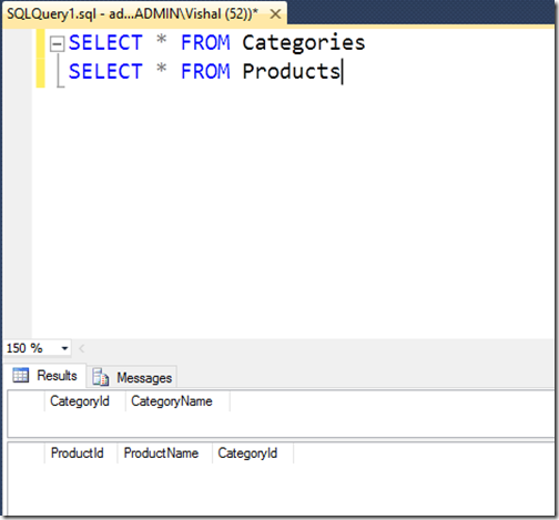 sql-server-database-with-no-data