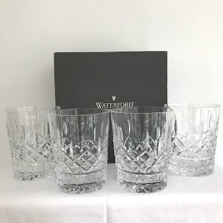 Waterford Crystal Lismore DOF Glasses, Set of 4