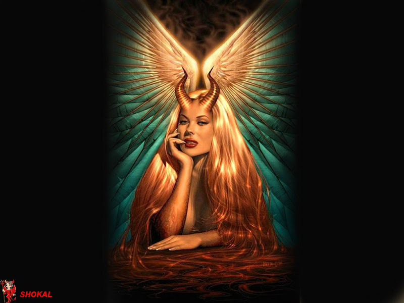 Holy Demoness With Wings, Fairies 1