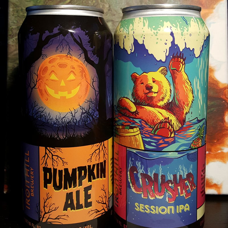 Mybeerbuzz .com Highlights Iron Hill Crusher & Pumpkin Ale