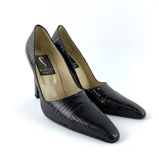 Fortuna Valentino Lizard Pumps