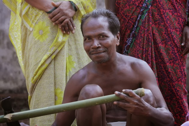 Bamboo craftsman from the Medar community of Dandeli