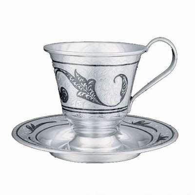 Серебренная посуда