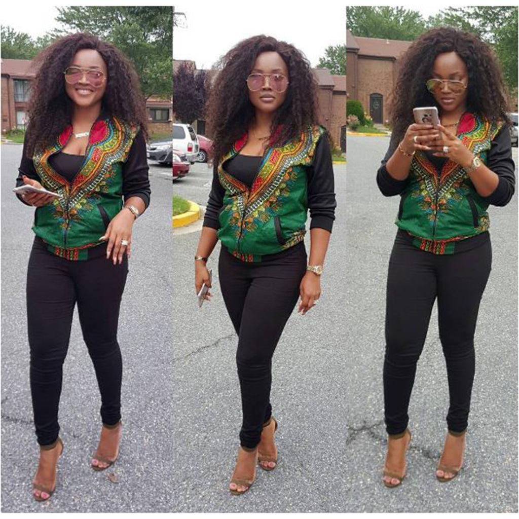 LATEST AFRICAN PRINT BLAZER DESIGNS FOR PRETTY WOMEN 5