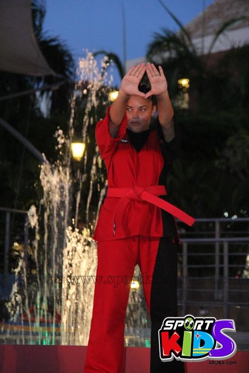 show di nos Reina Infantil di Aruba su carnaval Jaidyleen Tromp den Tang Soo Do - IMG_8635.JPG
