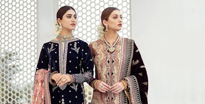 Qalamkar | Luxury Velvet Collection