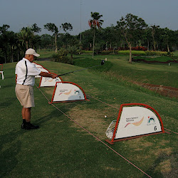 Jakarta: golfing with Rachmat