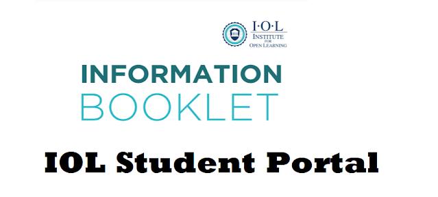 institute of open learning student portal login