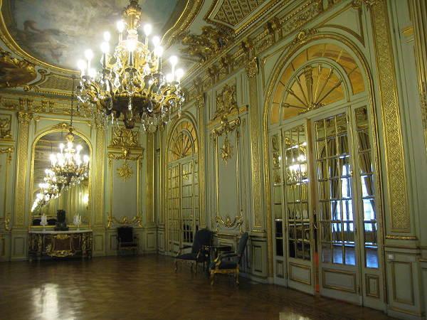 interior del Palacio San Martín