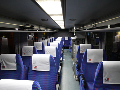 JR九州バス「桜島号」 8658 車内 その1