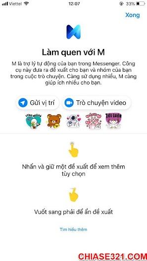 Cách dùng trợ lý ảo M của Facebook